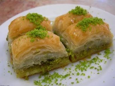 Special order: fresh baklava