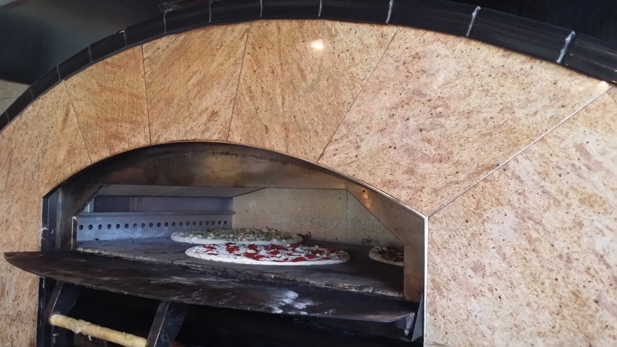 Our brick oven