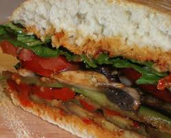 Grilled Vegetarian Hoagie