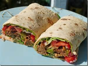 Cheese Steak - Wraps