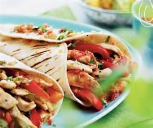Grilled Chicken Fajita Wrap