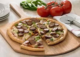 Sausage Parmigiano Pizza