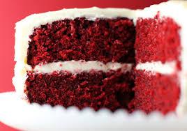 Red Velvet Cake Slice - Dessert