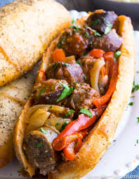 Sausage with Peppers & Onions